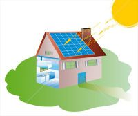 0033-Products-Household-house-with-solar-panels